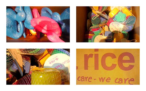 Alles von Rice in einer Kiste